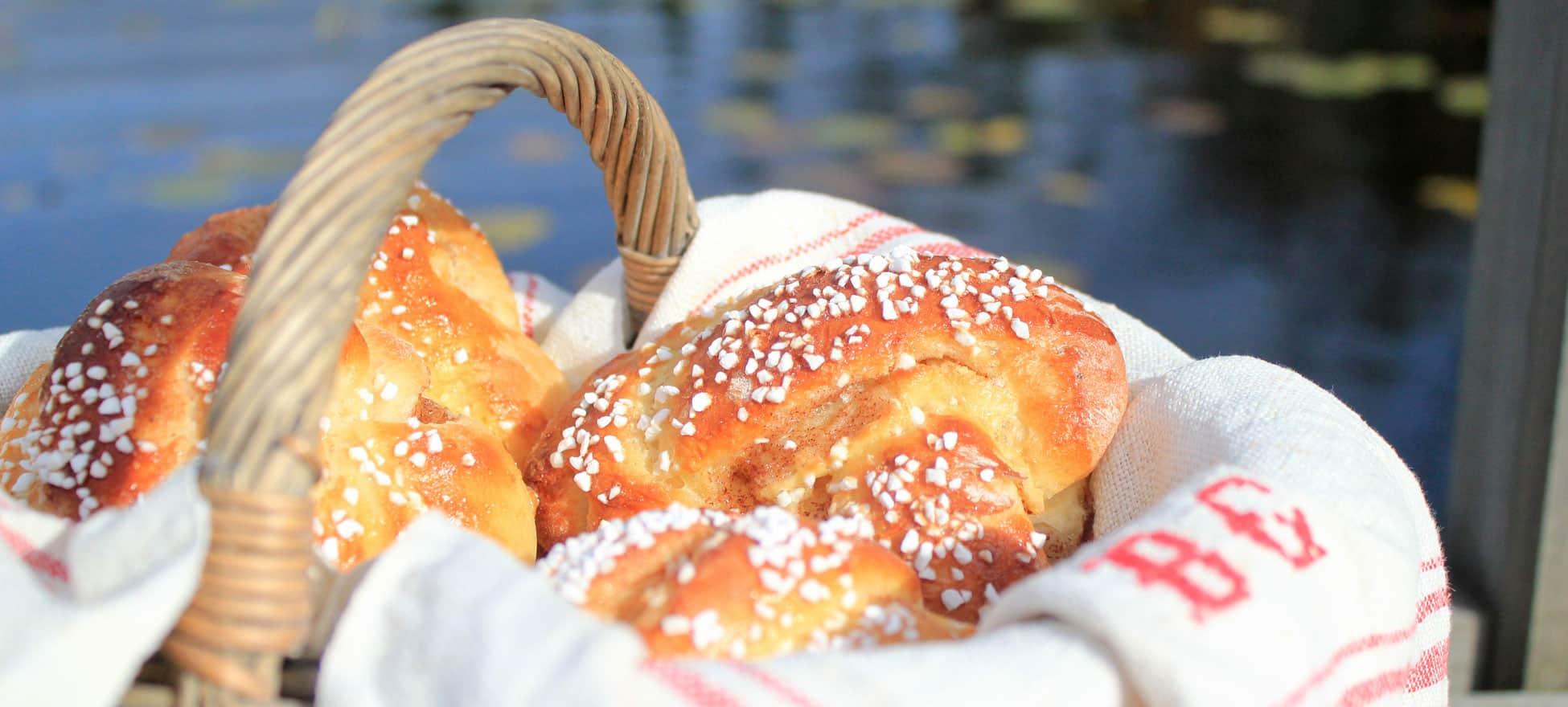 Zweedse kaneelbroodjes