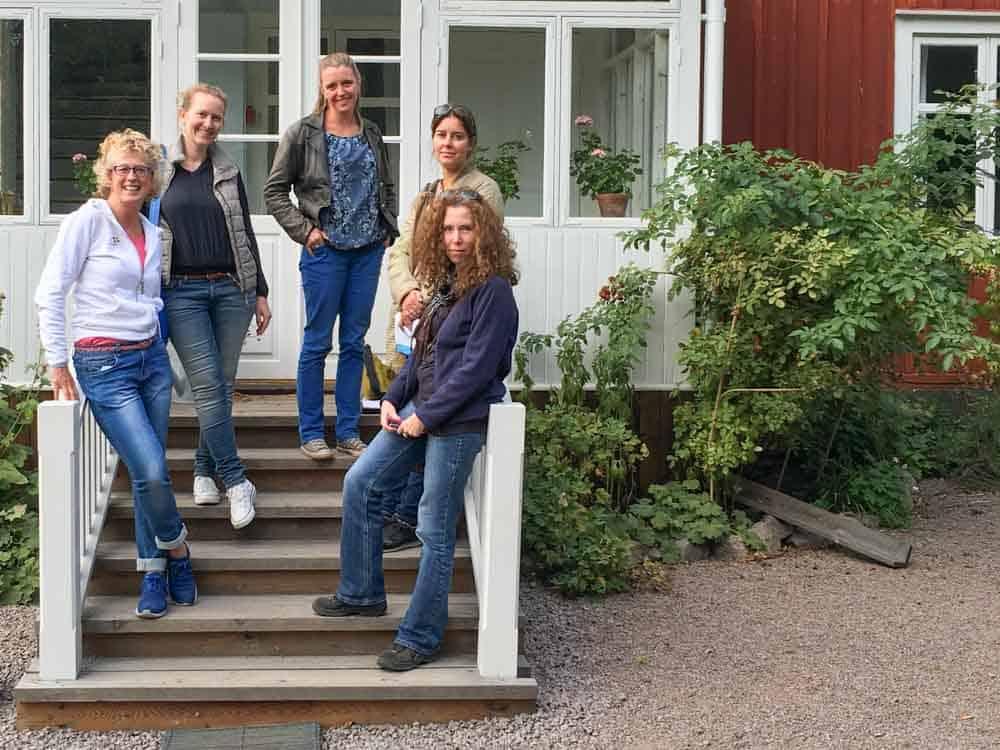 """Met z'n vijven mochten we deelnemen aan de persreis """"In de voetsporen van Astrid Lindgren"""" - georganiseerd door Visit Sweden."""
