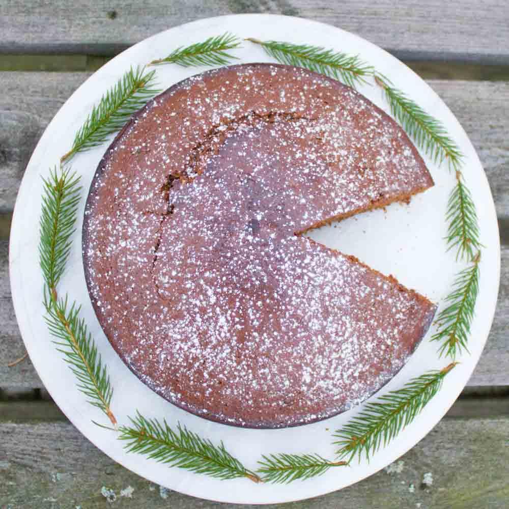Zweedse gembercake