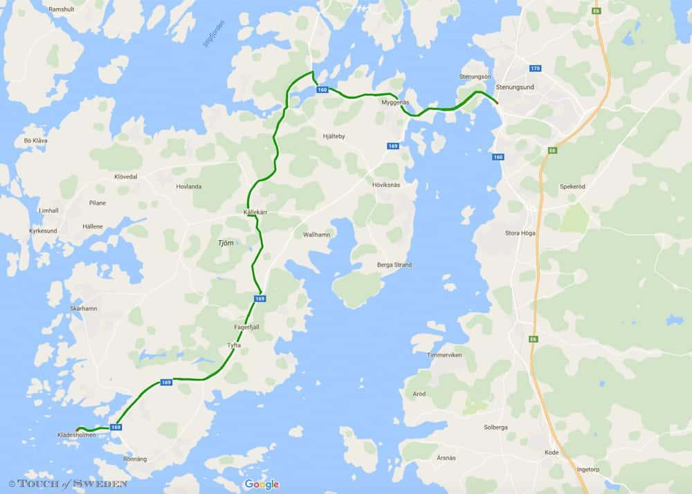 Zweedse westkust route